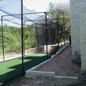 Custom Batting Cage Systems Backyard Baseball Amp Pitching