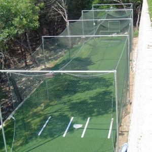 Backyard Batting Cage System. Residential Outdoor. AllSport America
