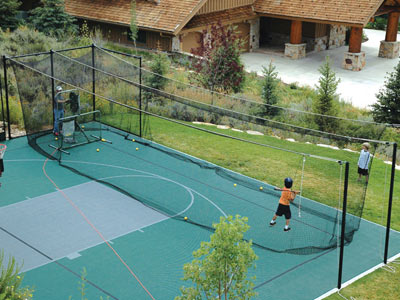 Sport Court Batting Cage