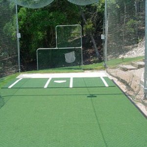 Backyard Batting Cage System. Residential Outdoor. AllSport America