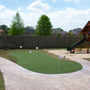 Custom Putting Green, AllSport America