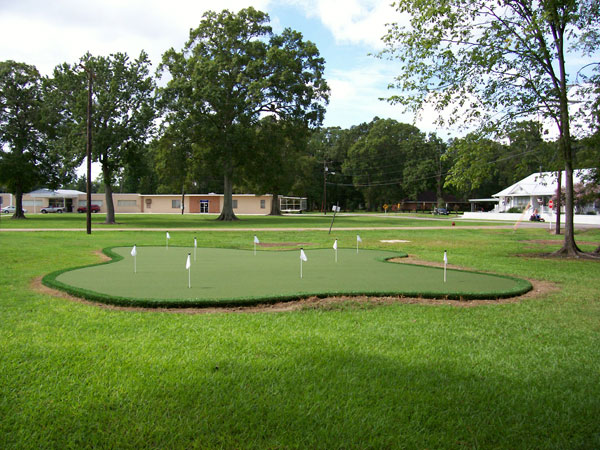 how to build a synthetic putting green in your backyard
