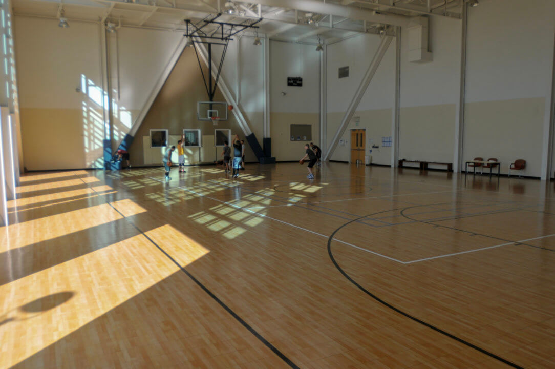 These Google employees scored with this indoor Sport Court!