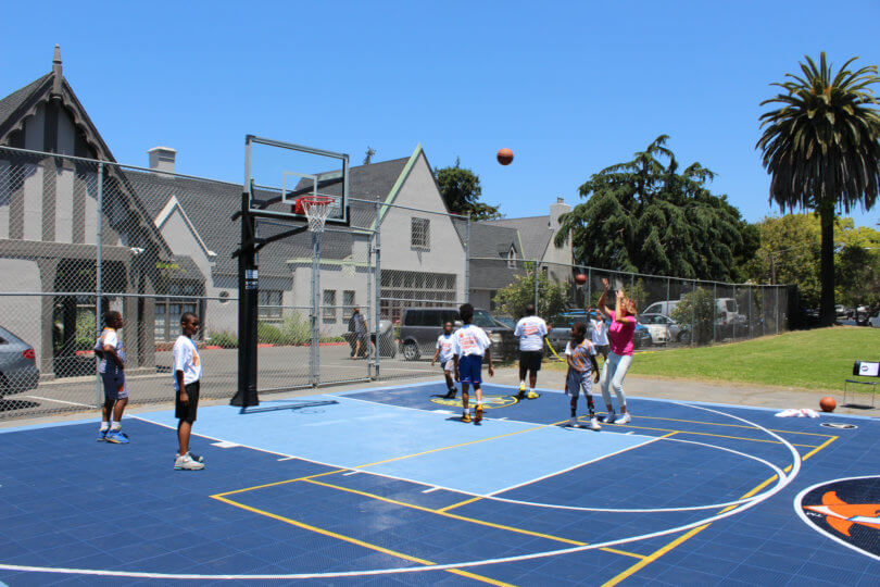 Dreamcourt Multi-Purpose Sport Court in Oakland, CA