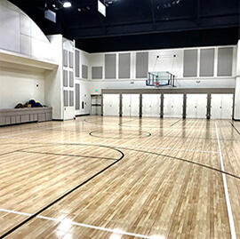 Sport Court Indoor Commercial Gymnasium Performance Athletic Surfacing
