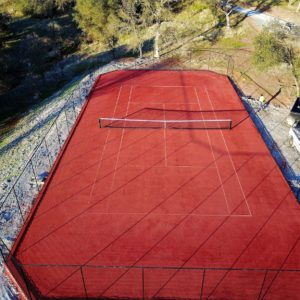 Artifical Clay Tennis Court