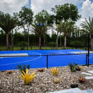 Backyard Basketball Court