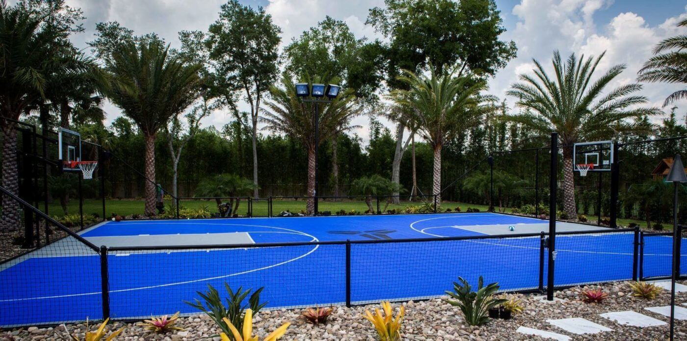 Backyard Basketball Court Sport Court. AllSport America