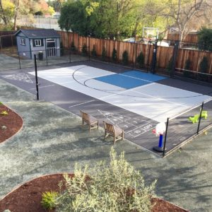 Backyard Residential Sport Court Basketball, Pickleball, Shuffleboard PowerGame Walnut Creek