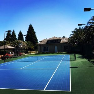 Backyard Tennis Court Sport Court Napa