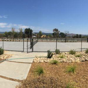 Backyard Residential Tennis Court Custom Napa Sonoma St. Helena Calistoga Low Maintenance Multi-Court Basketball Nova Pro Bounce