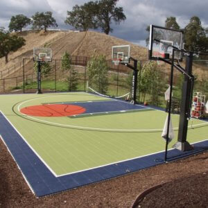 PowerGame+ Backyard Basketball Court | AllSport America