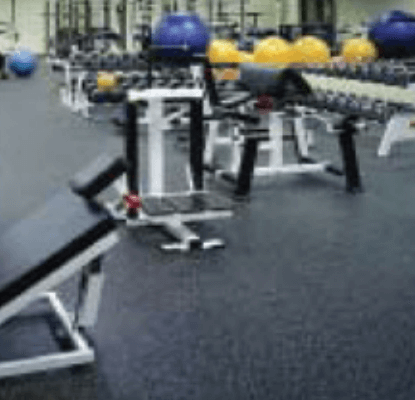 Weight Room Flooring Synthetic