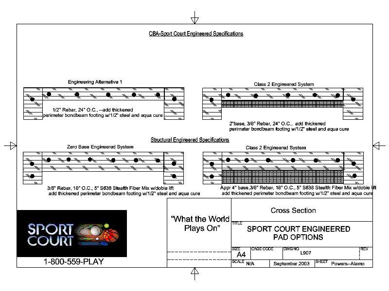 Sport Court Construction Process California Amp Nevada
