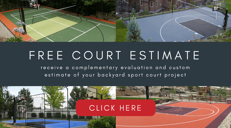 Free Court Estimate Backyard Sport Court