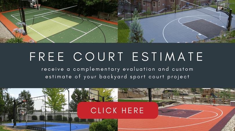 Free Court Estimate Backyard Sport Court