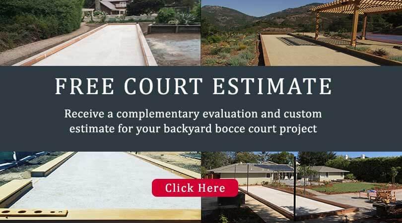 Free Estimate Bocce