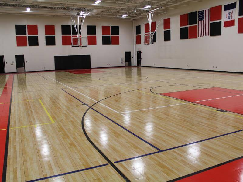 Indoor Athletic Flooring Gallery | Commercial Sport Court Surfacing