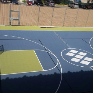 Outdoor Commercial Sport Court Game Court Infoblox, Santa Clara, CA