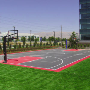 Outdoor Commercial Sport Court Game Court Brocade Systems, San Jose, CA