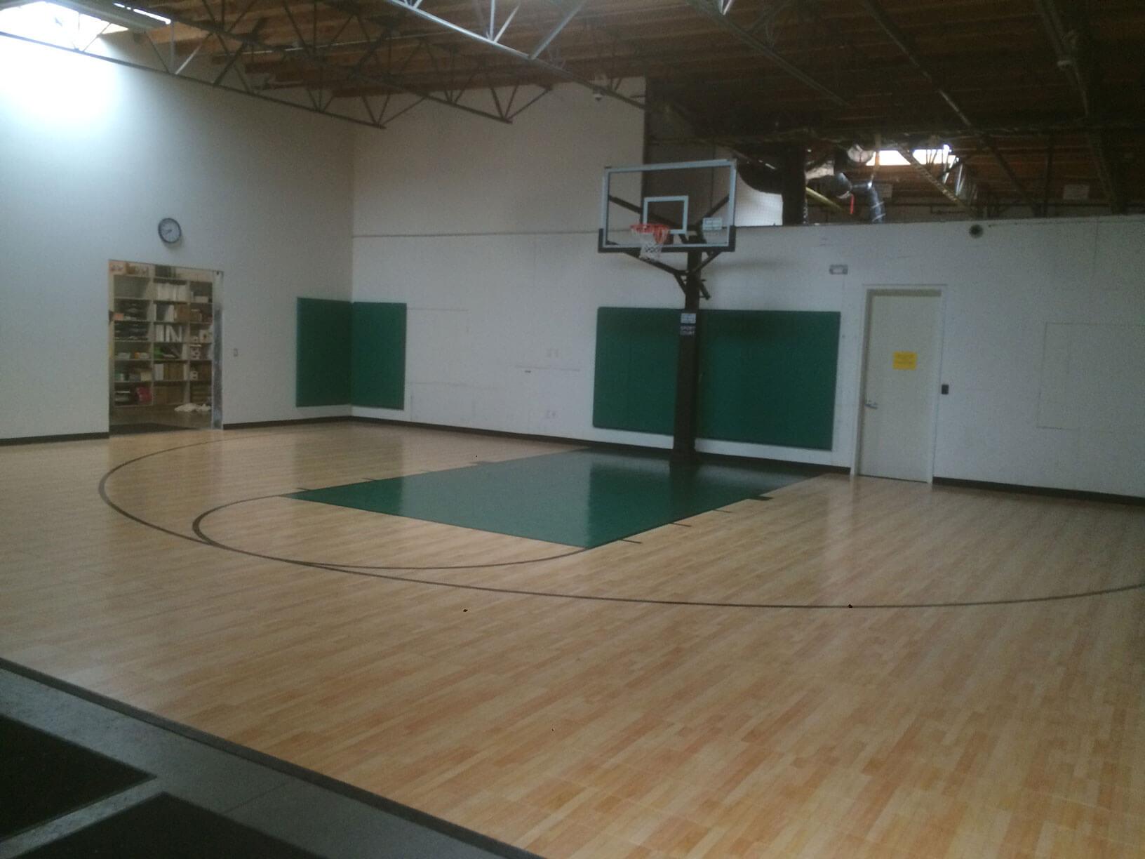 Sport Court Indoor Multi Purpose Room Gymnasium Athletic Flooring AllSport America