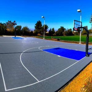 Facebook Campus Sport Court Basketball Court