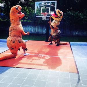 Basketball Court Fun