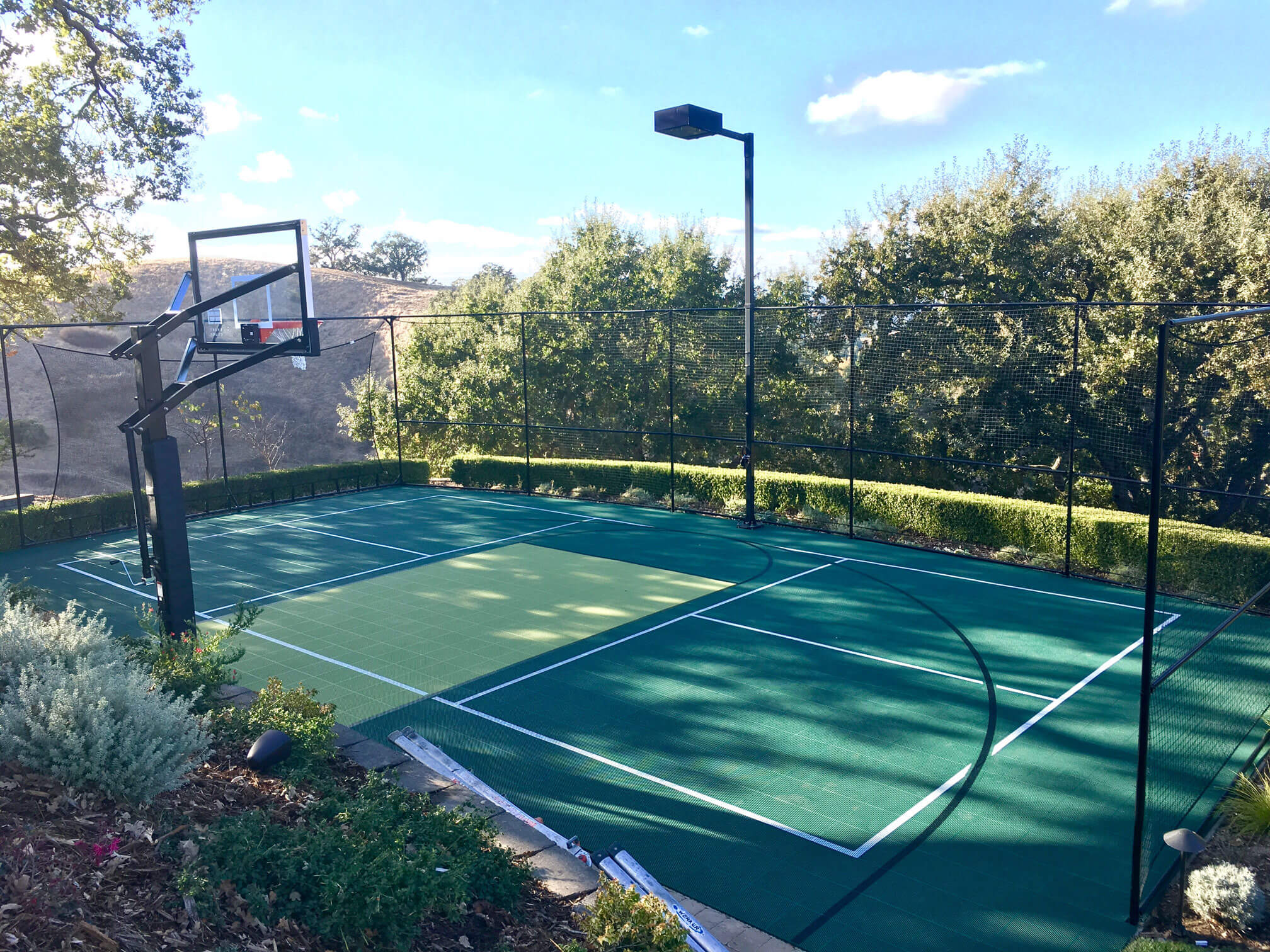Backyard Basketball Courts - Outdoor Residential ...