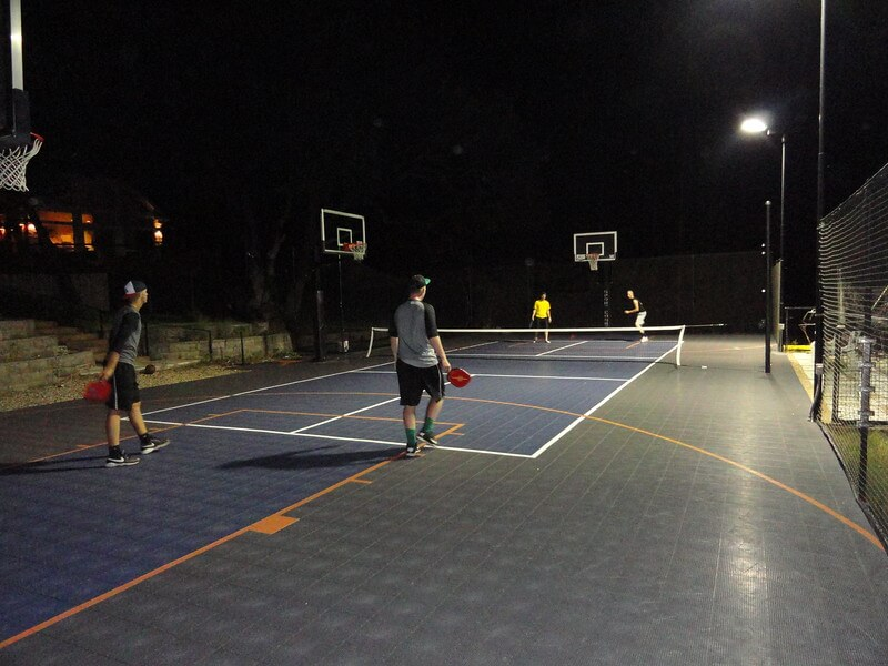 Backyard Pickleball Court, Sport Court | AllSport America