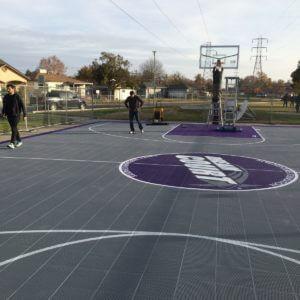 Sacramento Kings Sport Court Basketball Court Del Paso Heights