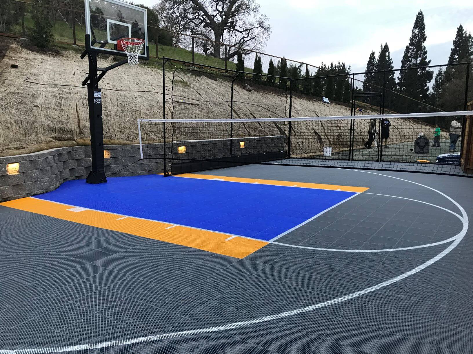 Multi Sport Court Outdoor Residential Commercial Photo Gallery