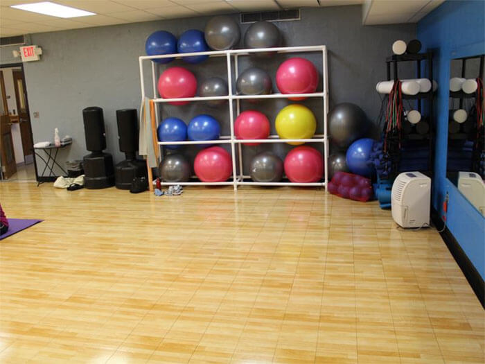 Sport Court Exercise Room | In-Home Aerobics Room | AllSport America