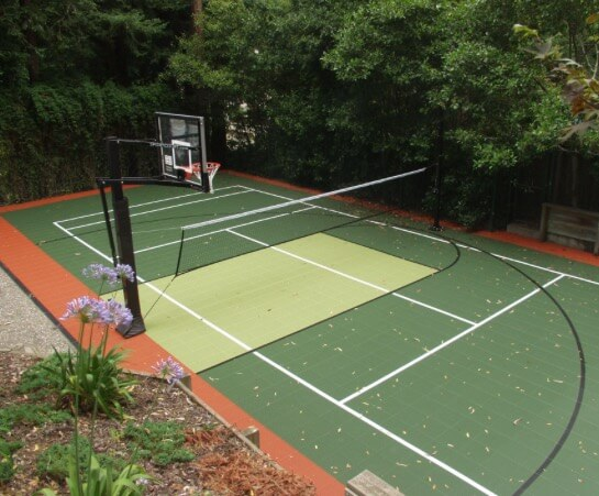Backyard Residential Sport Court Game Court