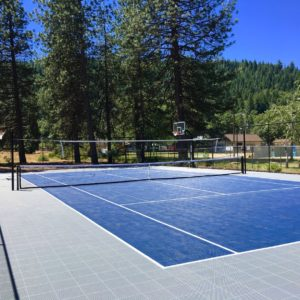 Sport Court Tennis Court, Multi Purpose | Tennis, Basketball, and Volleyball | AllSport America