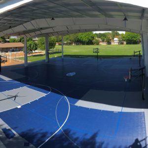 80x90 Sport Court Game Court MIQ School Lemoore, CA