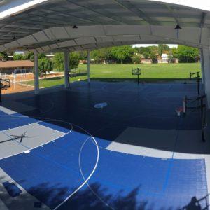 80x90 Sport Court Game Court MIQ School Lemoore, CA