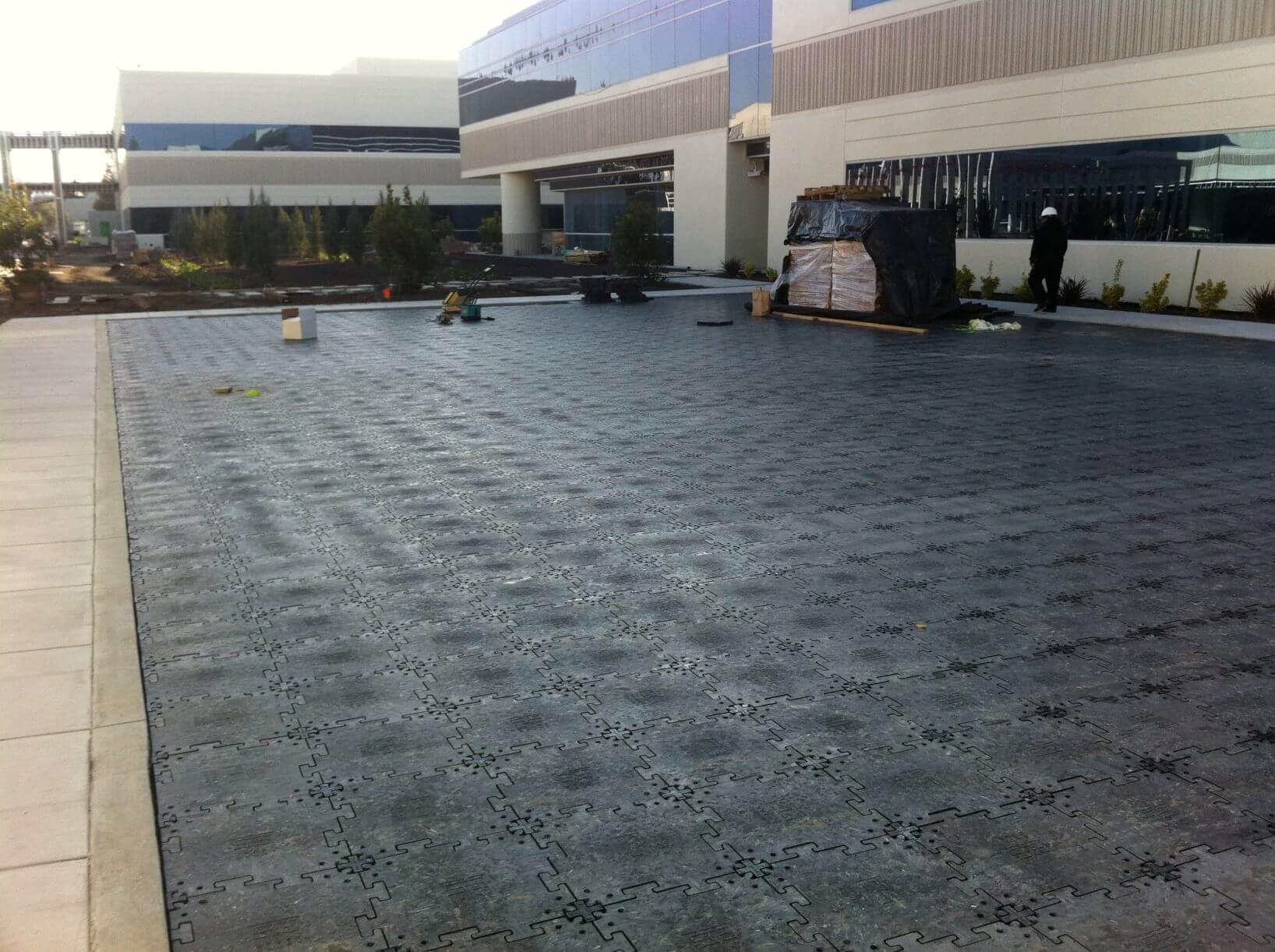 SportBase Portable Sport Court Foundation Backyard Concrete | AllSport America