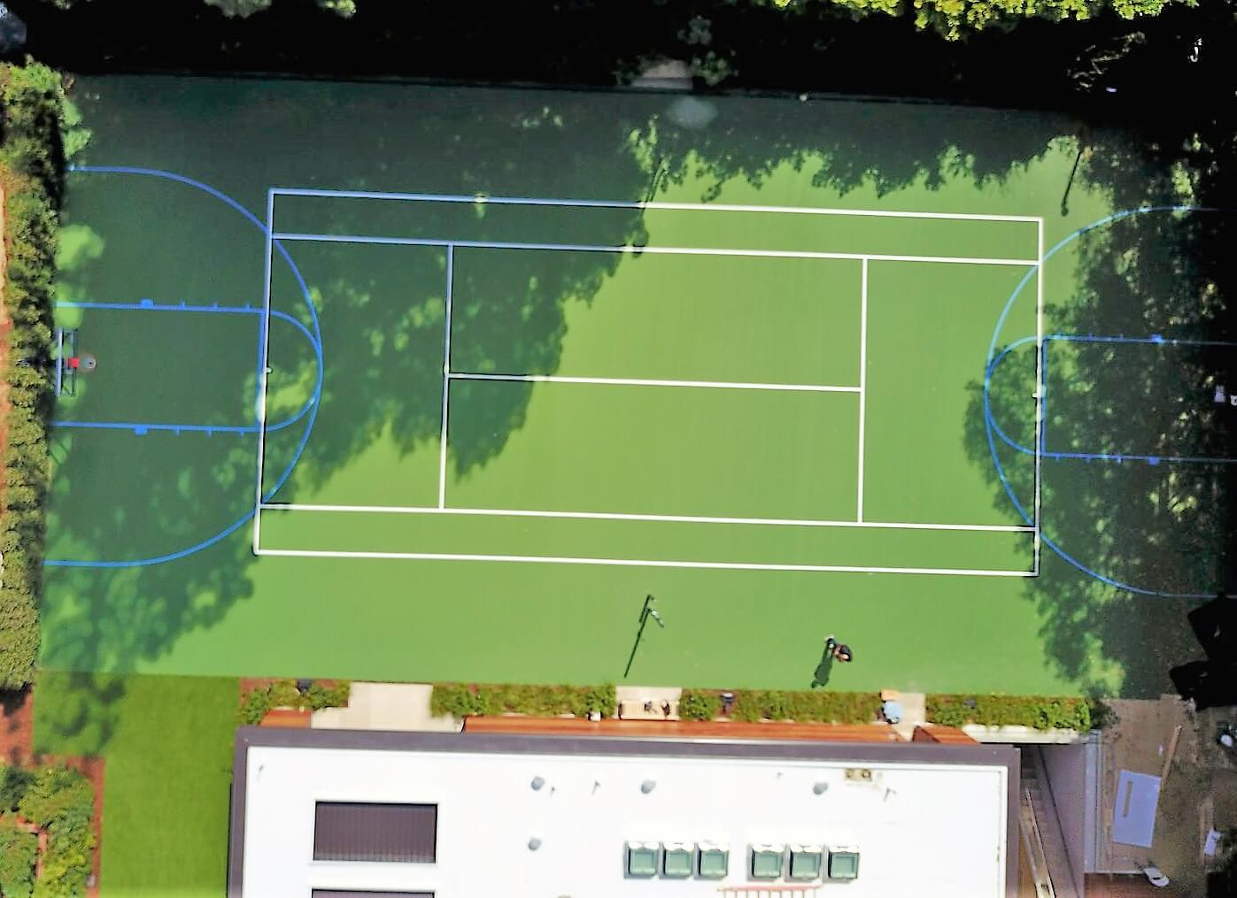 Tennis Courts Outdoor Residential Commercial Photo Gallery