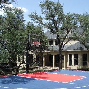 Backyard Basketball Court, Sport Court. Allsport America Inc