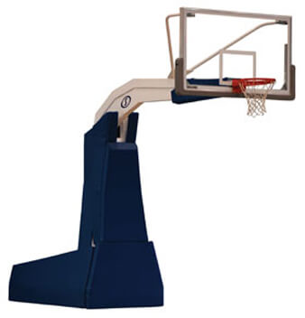 portable basketball backstop