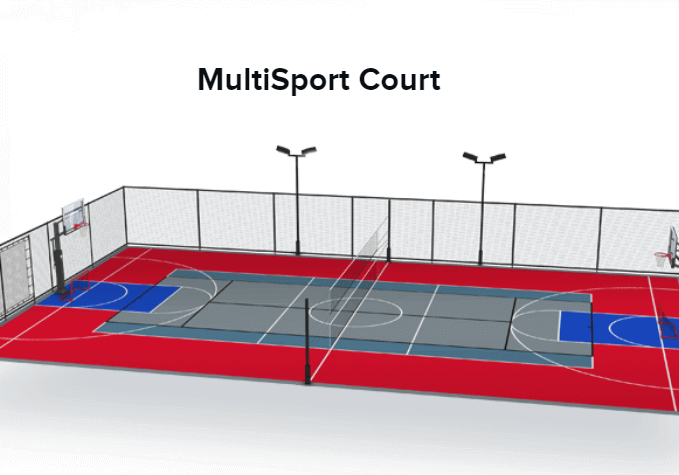 Online Sport Court Builder