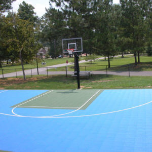 Community Park Sport Court Outdoor Basketball Court