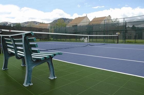 Modular Tennis Court