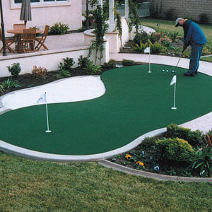 Custom Backyard Putting Green