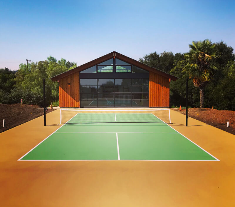 Backyard Pickleball Court | Custom Residential Nova Pro Bounce Court | AllSport America