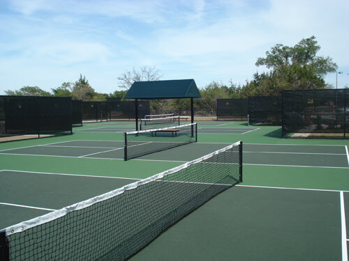 Country Club Pickleball Courts | Outdoor Commercial Acrylic Resurfacing | AllSport America