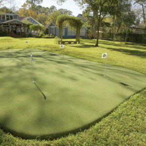 custom putting greens
