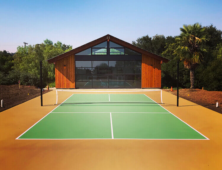 Sport Court Pickleball Court, Outdoor Commercial HOA | AllSport America