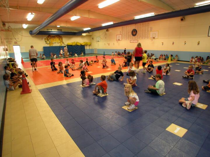Sport Court Floor Tritt Elem