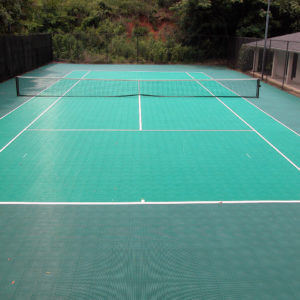 Sport Court Tennis Essex Tile Overlay System